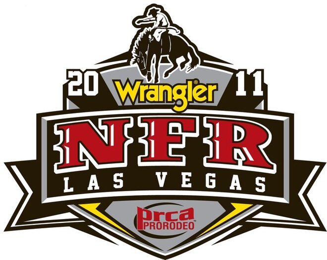National Finals Rodeo logo
