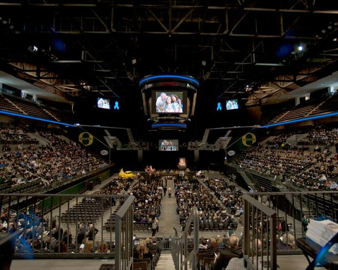 Inside Matthew Knight Arena