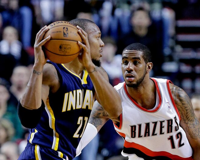Portland's Aldridge named to 2nd All-Star Game