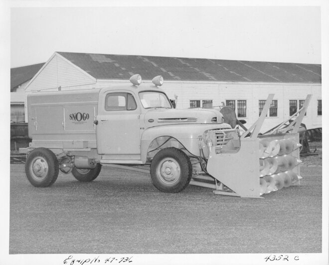 1949 ODOT snow removal equipment