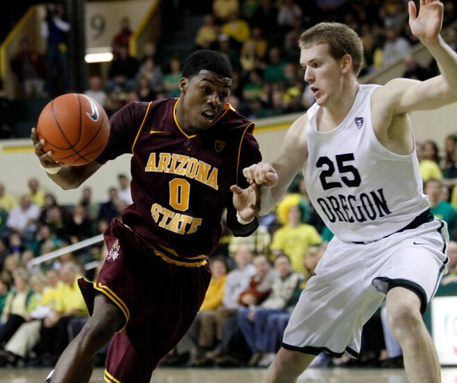 Arizona St Oregon Basketball