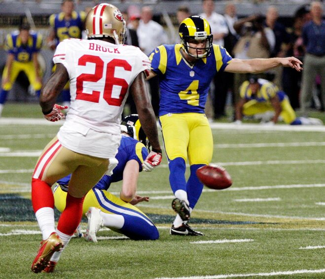 Rams edge 49ers 16-13 in overtime