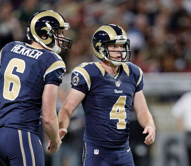 Former Beavers: St. Louis punter Hekker coming off big week