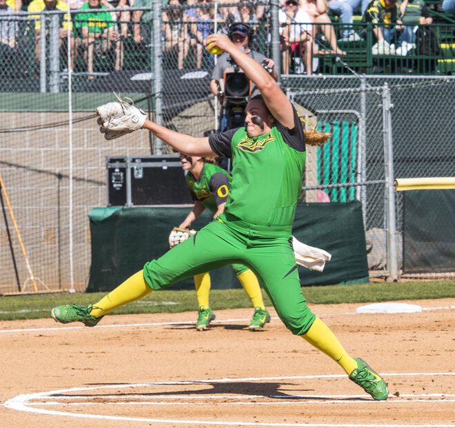 Hawkins pitches perfect game to lead Ducks over Huskies, 8-0
