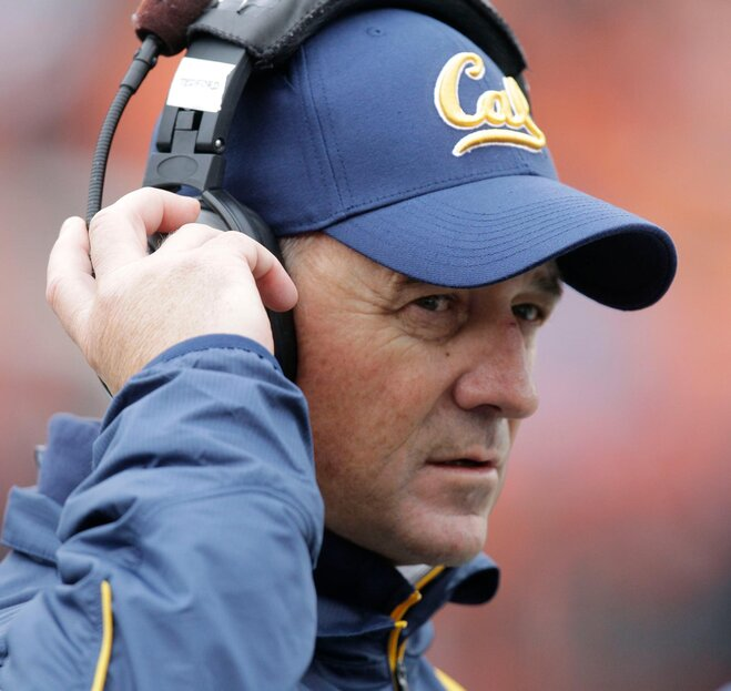 Cal fires coach Jeff Tedford