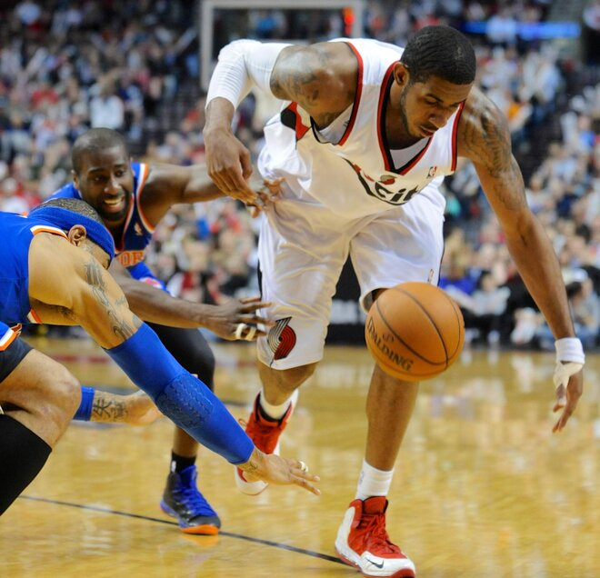 Lillard leads Blazers over Felton's Knicks
