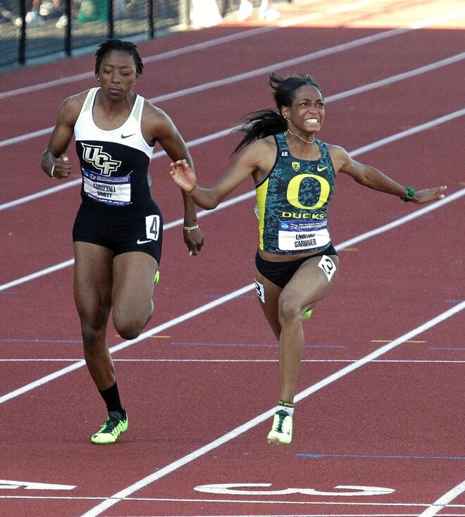 Gardner and Greer claim national titles for Oregon