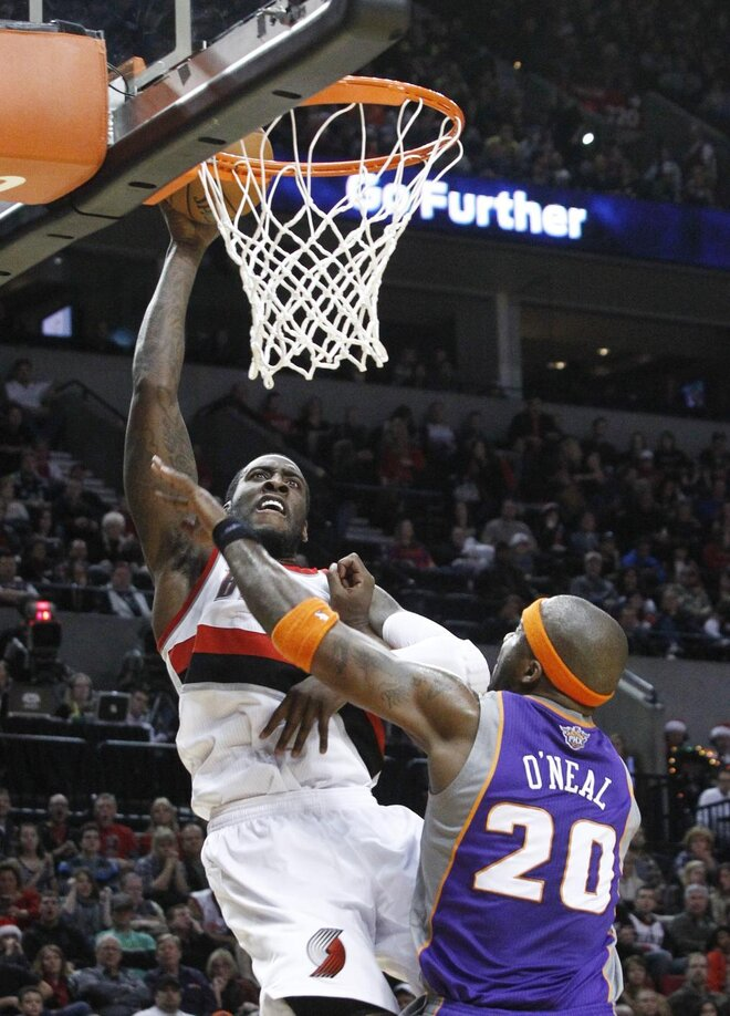 Blazers set Suns for fifth straight victory