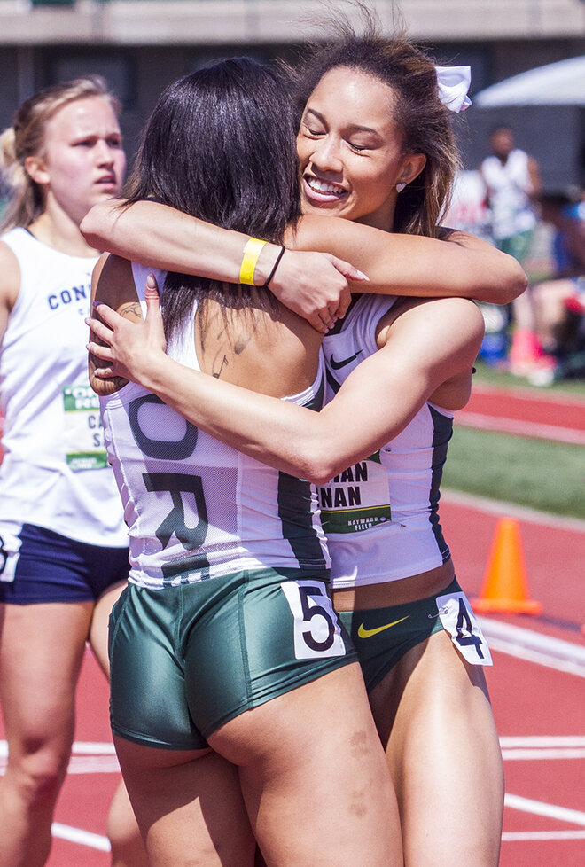 Ducks come away with 18 event wins at Oregon Relays