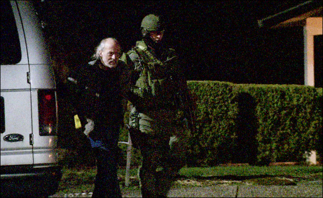 Boring man arrested after standoff with SWAT team