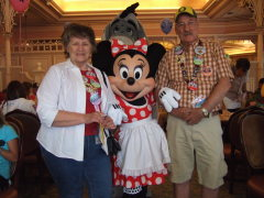 Our Anniversary with Minnie