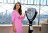 Elizabeth Hurley Lights Empire State Building