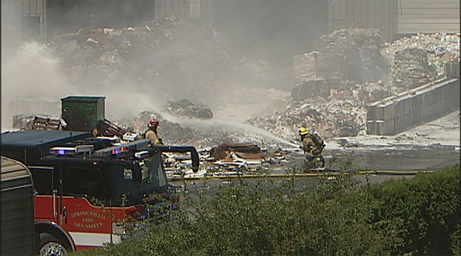 7-21 Recycling Center Fire 2