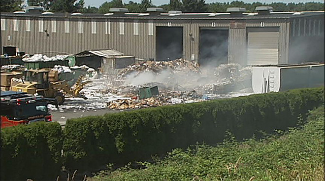 7-21 Recycling Center Fire 3