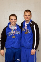 Churchill Dynamic Duo Prevail at State