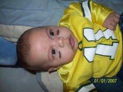 3 months old, GO DUCKS!