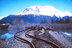 Turnagain Arm railroad tracks