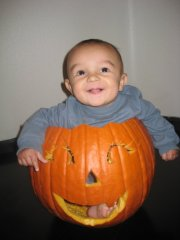 Pumpkin boy!