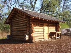 Log Cabin Settlement at Dorris Ranch