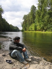 McKenzie River at Deerhorn