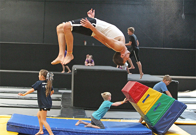 Avoid trampoline injuries with simple safety rules
