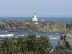 Cape Arago Lightouse