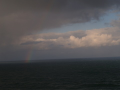 The Build-up for the Heceta Rainbow-