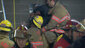 Firefighters rescue woman trapped between buildings (7)