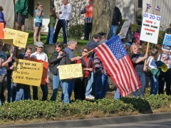 Eugene Tax Day Govt Spending Protest #1