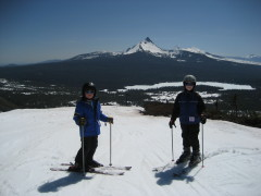 Skiing on Hoodoo