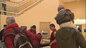 Tibetan monks visit the Library