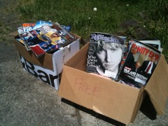 Free Reading Materials on Dillard Rd above 43rd