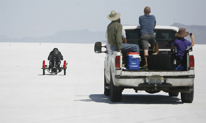 Blind Racer Salt Flats