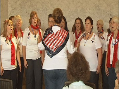 Eugene chorus performs 9/11 concert at Masonic Cemetery