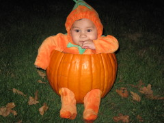 my son Alberts first Halloween!!