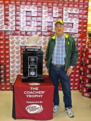 BCS COACHES TROPHY IN SPRINGFIELD