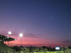 Sunset at Hayward Field