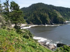 Pristine Oregon coastline