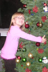 Five year old tree hugger
