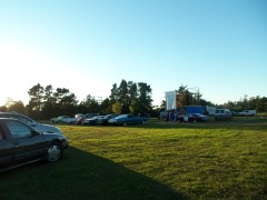 Drive-in movie in Florence, OR
