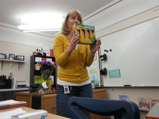 $1,000 surprise brightens teacher's day