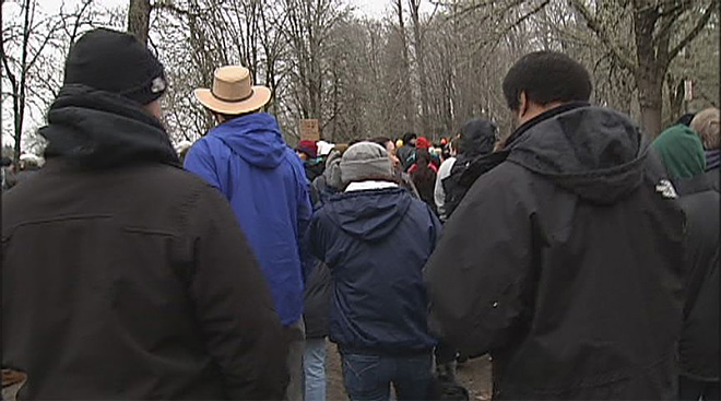 A march to honor Dr. King- 'He is a hero'06