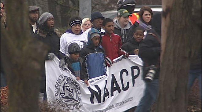 A march to honor Dr. King- 'He is a hero'19