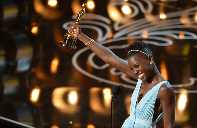 Nyong'o, Leto, '12 Years a Slave' win at Academy Awards