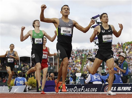 Centrowitz, Wheating make Olympic Team