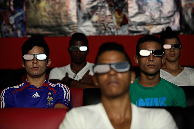Cuba cracks down on private cinemas, game salons
