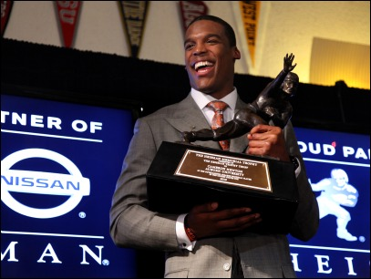 Heisman Trophy: Auburn's Cam Newton wins, James 3rd