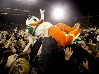 Blowout victory for Ducks over ASU