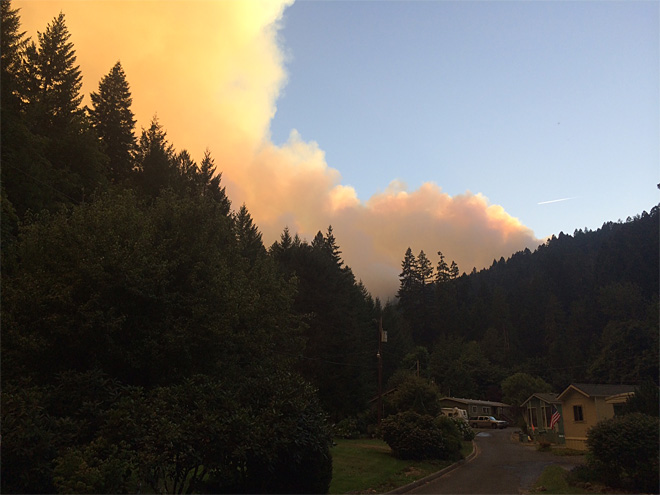Deception Complex jumps lines, residents prep to evacuate near Oakridge