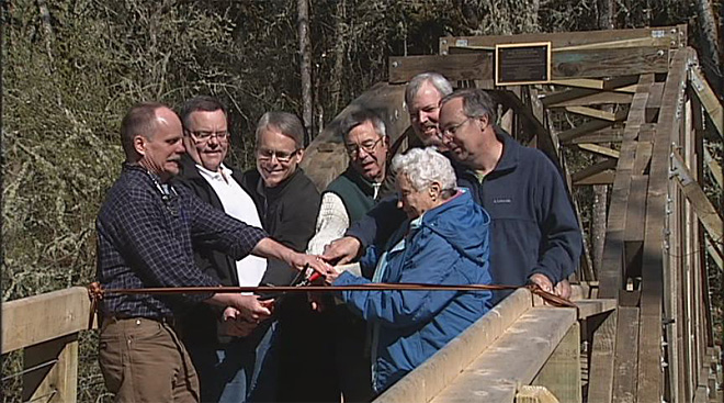 Adkinson Bridge rebuilt with community help